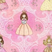 Quilting Treasures Royal Princess Pink Multi