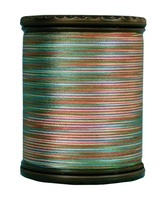 Tiara #50 Variegated Filament Silk Thread. #608. 273 Yds.