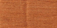 Buttonhole Silk #16 #072 Orange Rust 22 Yds. On Card.