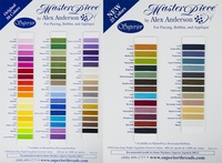 MasterPiece Cotton Thread Color Card Set