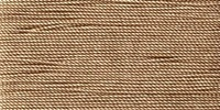 Buttonhole Silk #16 #070 Brown 22 Yds. On Card.