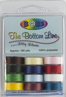 BOBs Variety Pack 3 Plastic-sided Bobbins. (Dozen Packs)