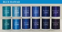 Blue Hawaii (Set #8) - Magnifico 12 spool set.