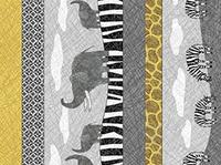 Quilting Treasures Amboseli Gray Multi