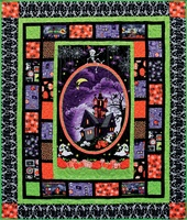 Henry Glass Frightful and Delightful Glow-in-the-Dark Quilt Kit