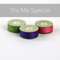 SuperBOBs M-Style Try Me Special x 3 Bobbins