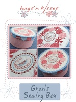 Pattern: Grans Sewing Box By Hugs 'N Kisses. (H-52)