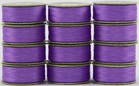SuperBOBs #607 Light Purple. L-style Bobbins. 1 Dz.