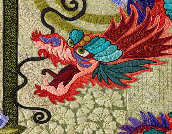 Quilt With The Dragon Tatoo