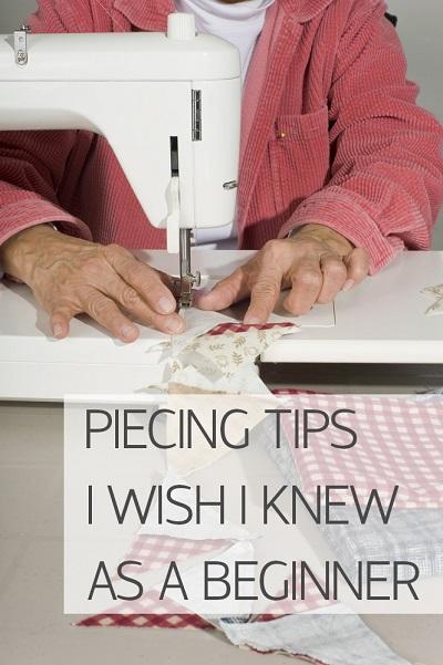 Piecing Tips