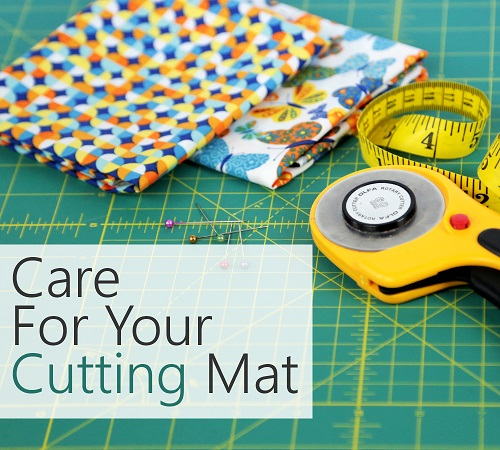 Cutting Mat Care
