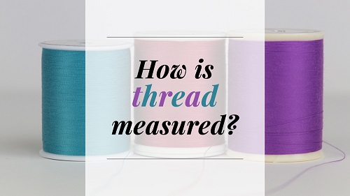 How is thread measured?