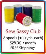 Sew Sassy Spool Club